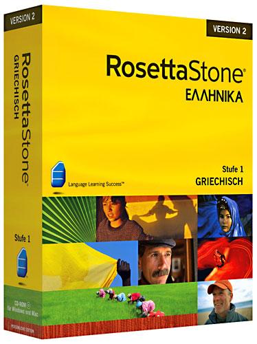 Rosetta Stone v2 Griechisch Stufe 1