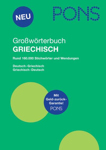 PONS Großwörterbuch Griechisch