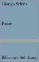 Seferis, Giorgos: Poesie