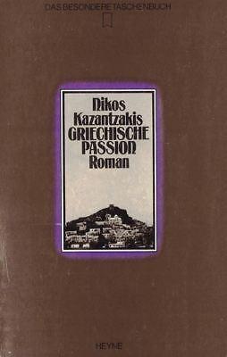 Nikos Kazantzakis: Griechische Passion (Gebraucht)