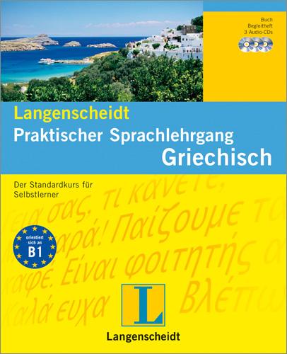 Anastasia Kalpakidou, Athanasios Anastasiadis: Langenscheidt Praktischer Sprachlehrgang Griechisch.