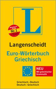 Langenscheidt Euro-Wörterbuch Griechisch