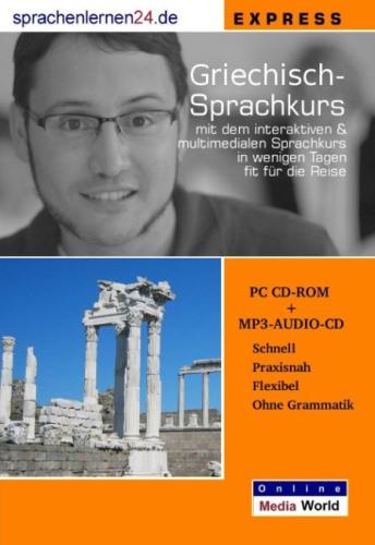 Griechisch CD-ROM + MP3 Audio-CD Express-Kurs