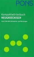 PONS Kompaktwörterbuch Neugriechisch
